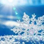 Снег в статусах и цитатах.