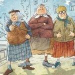 Бабушки в анекдотах и приколах