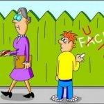 Анекдоты про учителей и школу . Часть 1