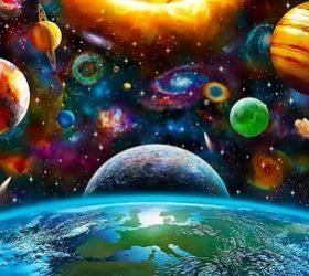 В нашей солнечной системе ... - стихи о планетах и спутниках, стихи о планетах солнечной системы,