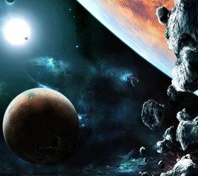 Кометы, метеоры, астероиды - стихи про космические тела