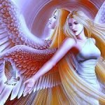 На закате болтали два ангела…