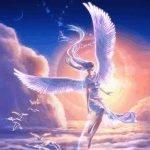 Промчался ангел, как комета,..