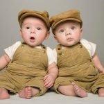 Короткие стихи про двойняшек