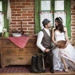 Выкуп невесты в деревенском доме — – классический сценарий