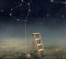 На чёрном бархате небес... - стихи о звездах и созвездиях