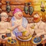 Частушки про баню — озорные и потешный
