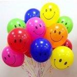 В жизни раз бывает 18 лет - кричалка с шарами на День рождения