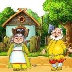 Поздравление на юбилей от Бабки и Дедки - веселая сценка