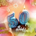 Кричалки на женский юбилей (50 лет)