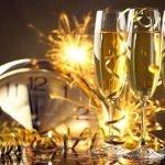 Поздравление-тост со свечами (новогодняя сценка)