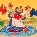 Жили у бабуси два веселых гуся — оригинал и переделки песни