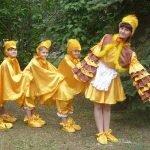 Поздравление от цыпляток - сценка с подарком на юбилей