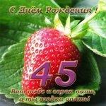 Красна Ягодка - сценка на ягодный юбилей (45 лет)