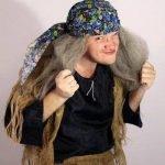 Баба-Яга на мужском празднике — сценка на 23 февраля
