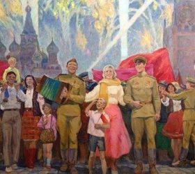 Идёт парад, парад Победы... — стихи на 9 мая