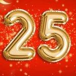 25 лет — стихи и поздравления