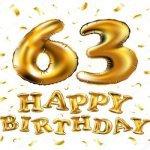 63 года— стихи и поздравления