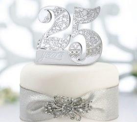 25 лет — Серебряная свадьба. Стихи и поздравления