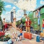 Музыка железных дорог - песни-переделки на День Железнодорожника