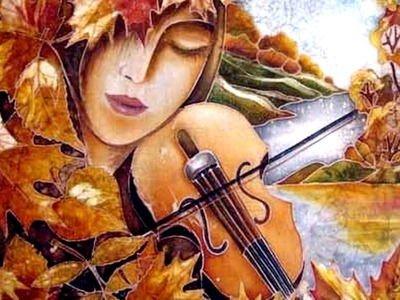 Ах, осень-царевна! — стихи об осени